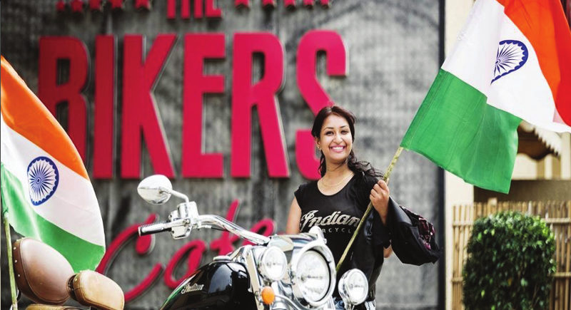 AN AVID BIKER WITH A STRONG PASSION FOR RIDING: SUPARNA SARKAR