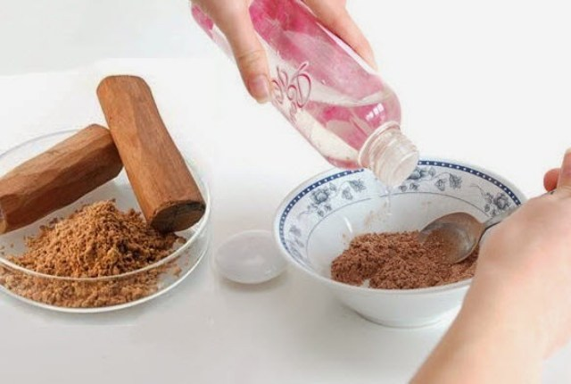Rose Water and Sandalwood